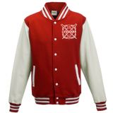 LIFEGUARD RETRO RED/WHITE VARSITY JACKET